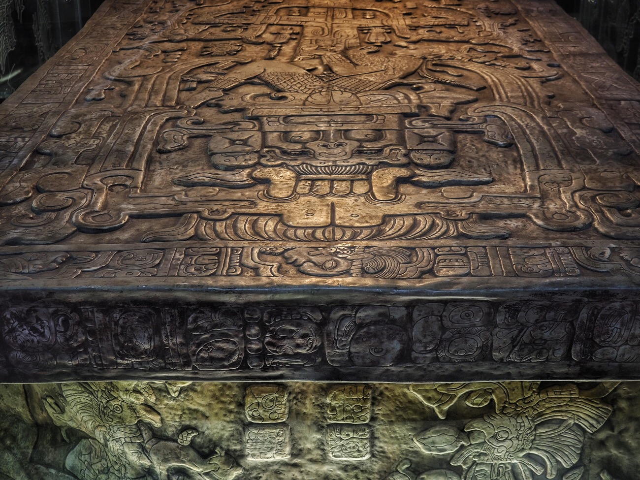 The stone coffin of Pakal