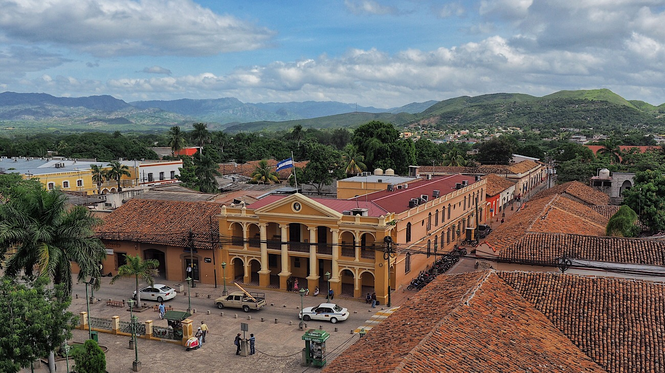 View from the oldest Iglesia in the Americas